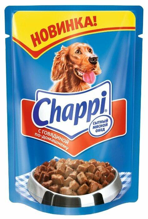 Корм для собак Chappi говядина 12шт. х 400г