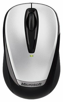 Мышь Microsoft Wireless Mobile Mouse 3000 with Nano Grey USB