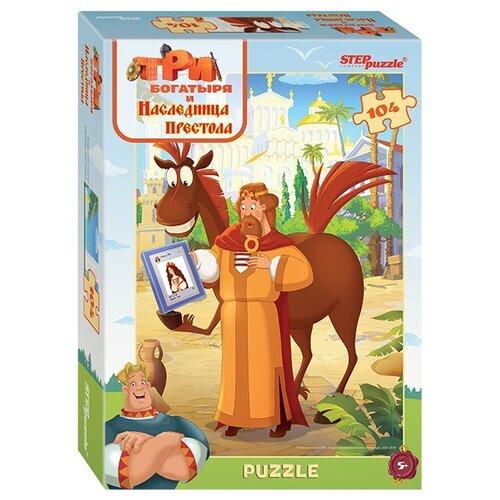 Купить Пазл Step puzzle Мельница Три богатыря - 2 (82180), элементов: 104 шт., Пазлы