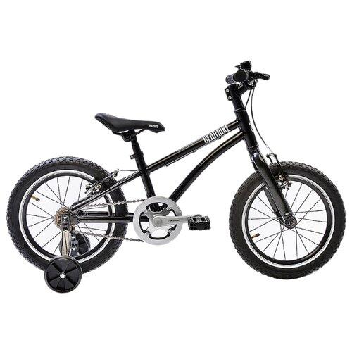 Детский велосипед BearBike Китеж 16 1s v-brake черный (требует финальной сборки)
