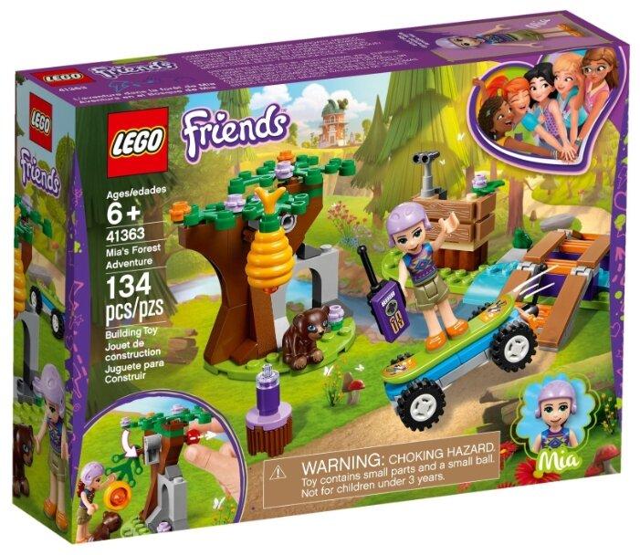Конструктор LEGO Friends 41363 Лесные приключения Мии