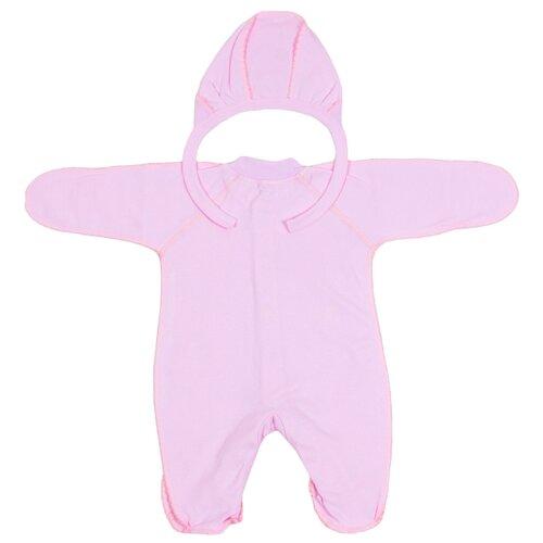 Комплект одежды Клякса размер 50, розовый