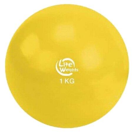 Медбол Lite Weights 1701LW, 1 кг