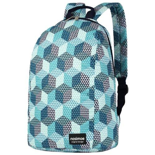 Рюкзак Nosimoe 012-03D кубы бирюзовый рюкзак tramp ultra 15л trp 012 04