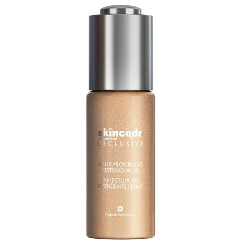 Skincode Exclusive Cellular Overnight Restoration Oil Клеточное ночное восстанавливающее масло для лица, 30 мл недорого