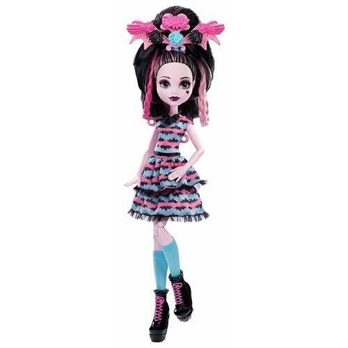 Фото - Кукла Monster High Стильные прически Дракулаура, DVH36 mattel monster high кукла призрачно clawdeen wolf