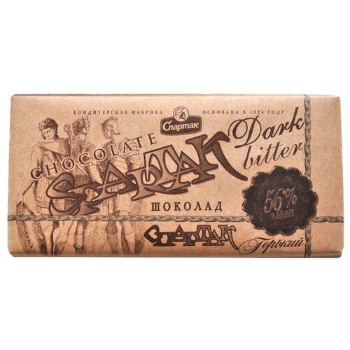 Шоколад Спартак горький, 56% какао, 90 г цена 2017