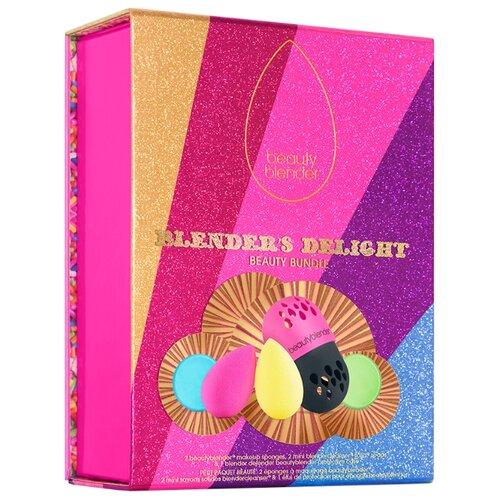 Купить Набор спонжей beautyblender Blender's Delight с мылом, 2 шт. розовый/желтый