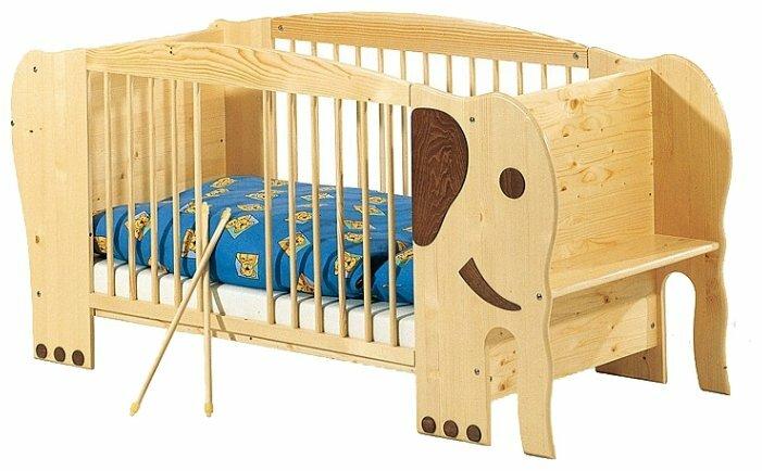 Кроватка Pinolino Elefant Jumbo