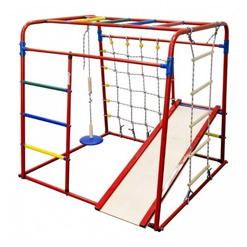 Спортивно-игровой комплекс Формула здоровья Start baby 1 красный/радуга