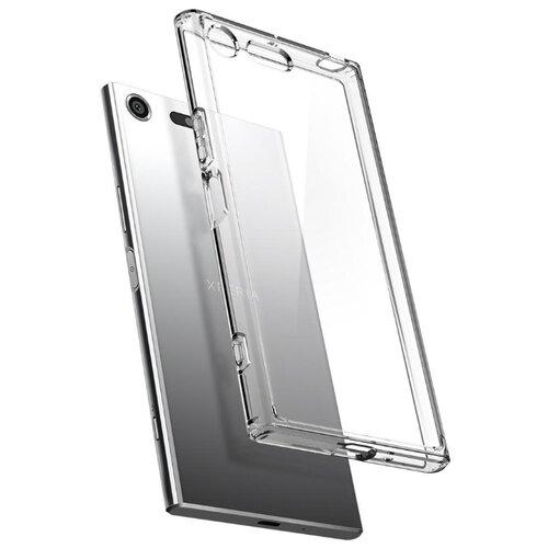 Купить Чехол Spigen Ultra Hybrid для Sony Xperia Xz (G10CS21969) для Sony Xperia Xz прозрачный