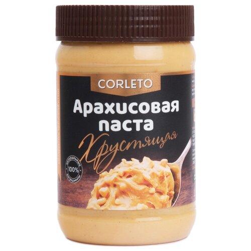 Corleto Арахисовая паста Хрустящая, 450 гШоколадная и ореховая паста<br>