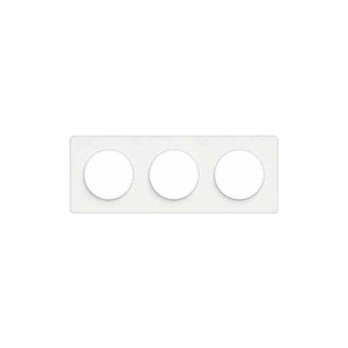 Рамка 3п Schneider Electric S52P806 ODACE, белый