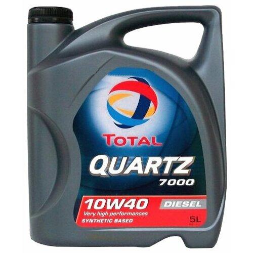 Моторное масло TOTAL Quartz Diesel 7000 10W40 5 л