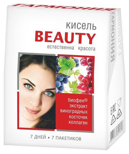 Кисель Гармония Витаминизированный порционный BEAUTY Естественная красота 140 г