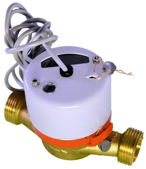 """Счётчик горячей воды Тепловодомер ВСТ-20 импульсный 1"""""""