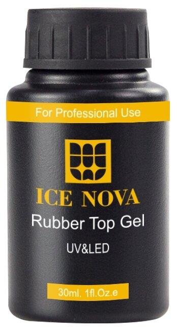 Верхнее покрытие ICE NOVA Rubber Top Gel 30 мл