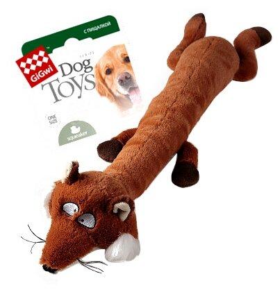 Игрушка для собак GiGwi Dog Toys Лиса (75231)