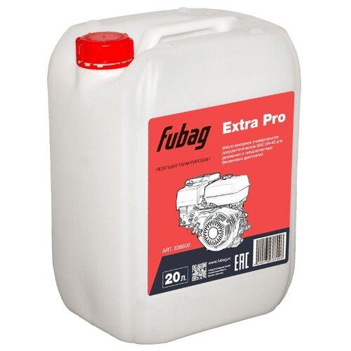 Масло для садовой техники Fubag Extra Pro SL/CF 5W-40 20 л