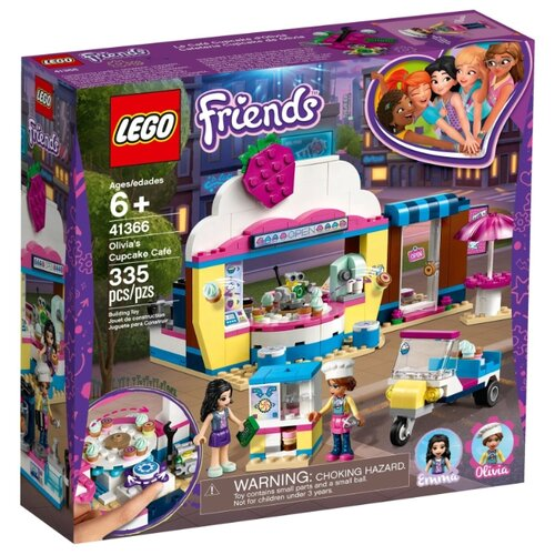 Конструктор LEGO Friends 41366 Кондитерская Оливии конструктор friends lego lego mp002xg00jt9