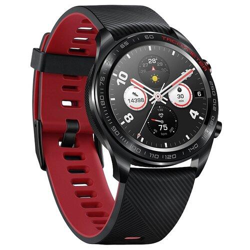 Часы Honor Watch Magic (silicone strap) черный часы honor watch magic b19s с силиконовым ремешком black