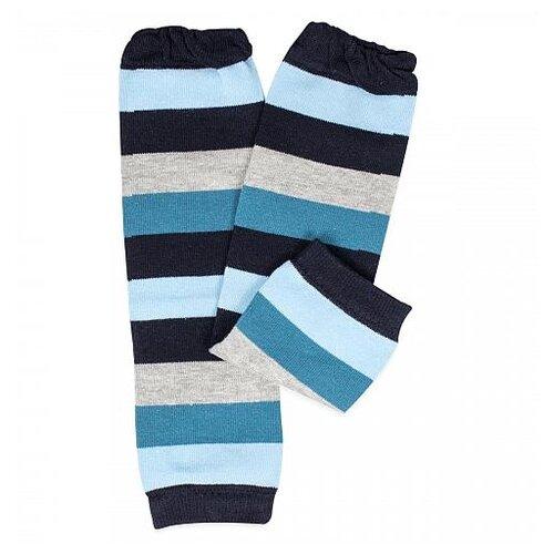 Купить Гетры GlorYes! черный/синий/серый, Носки