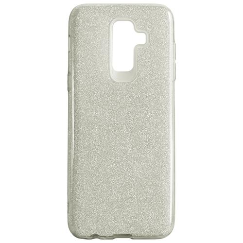 Купить Чехол Akami Shine для Samsung Galaxy J8 2018 серебристый