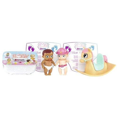 Набор Zapf Creation Baby Secrets с лошадкой-качалкой 930-144 zapf creation baby secrets 930 328 бэби секрет набор с садовыми качелями