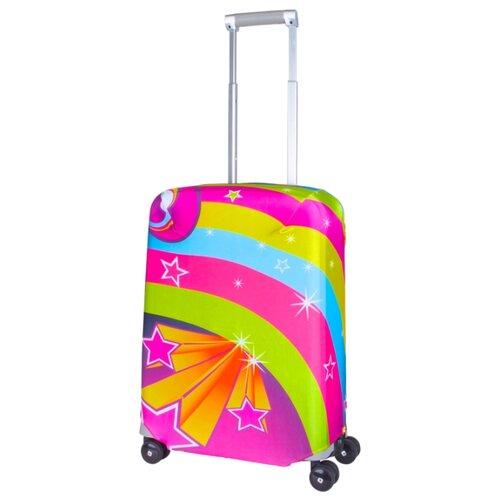 Чехол для чемодана ROUTEMARK Lucy SP240 S, разноцветный чехол для чемодана routemark искры и блестки art lebedev sp310 s фиолетовый