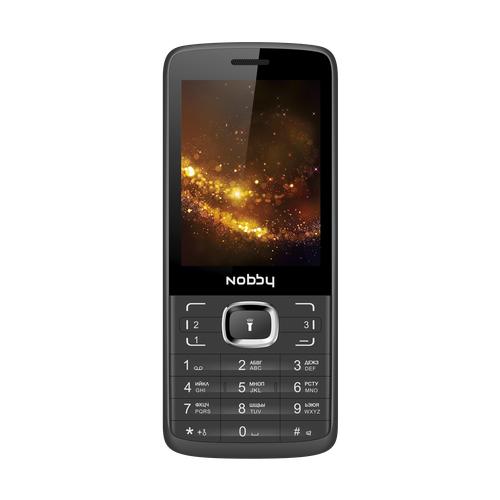 Телефон Nobby 330T черный / серый (NBP-BP-28-12)