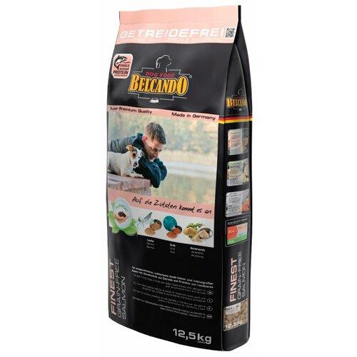 Корм для собак Belcando Finest GF Salmon для собак мелких и средних пород (12.5 кг)