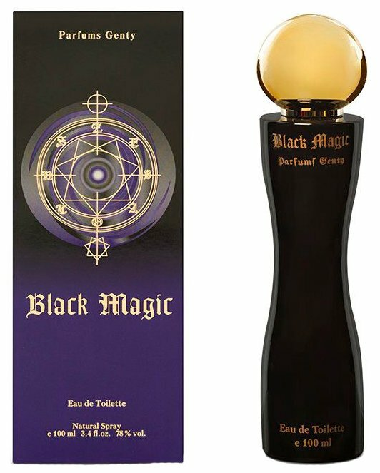 Туалетная вода Genty Black Magic