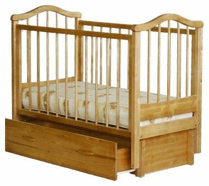 Кроватка Можгинский лесокомбинат Камилла (с ящиком)