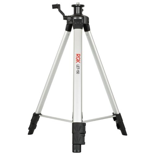 Штатив телескопический RGK LET-150 черный/серебристыйШтативы, вехи, рейки<br>
