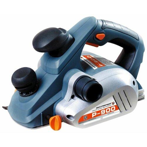 Сетевой электрорубанок Электроприбор Р-900, 900 Вт синий/серый/черный сетевой электрорубанок makita 1911b 900 вт 900 вт синий