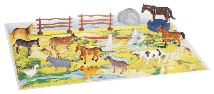 Игровой набор BONDIBON Ребятам о зверятах - Дикие и домашние животные ВВ1639
