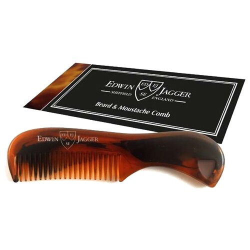 Расческа для усов и бороды Edwin Jagger Beard & Moustache Comb