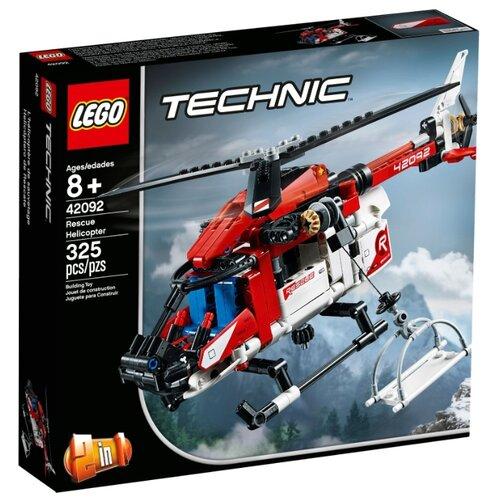 Конструктор LEGO Technic 42092 Спасательный вертолёт lego city 60179 вертолёт скорой помощи lego