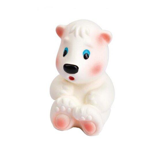 Купить Игрушка для ванной ОГОНЁК Медвежонок Умка (С-902) белый, Игрушки для ванной