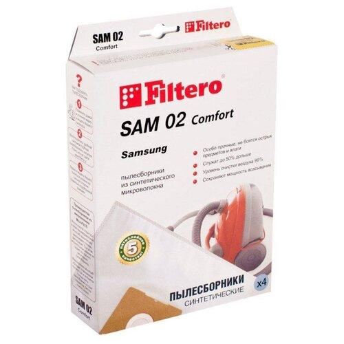 Filtero Мешки-пылесборники SAM 02 Comfort 4 шт.
