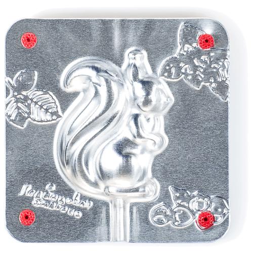 Форма для мармелада Леденцовая фабрика Белочка (0050) серебристый
