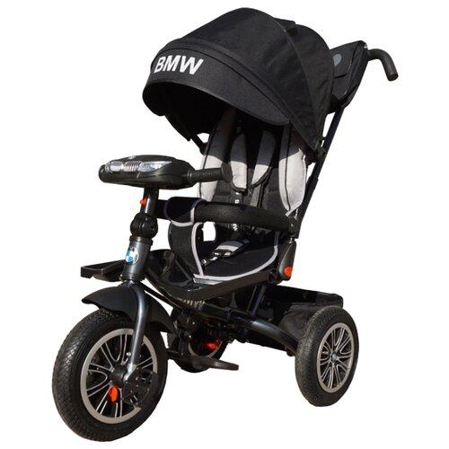 Купить Трехколесный велосипед Shantou City Daxiang Plastic Toys BMW5-M-N1210 черный, Трехколесные велосипеды