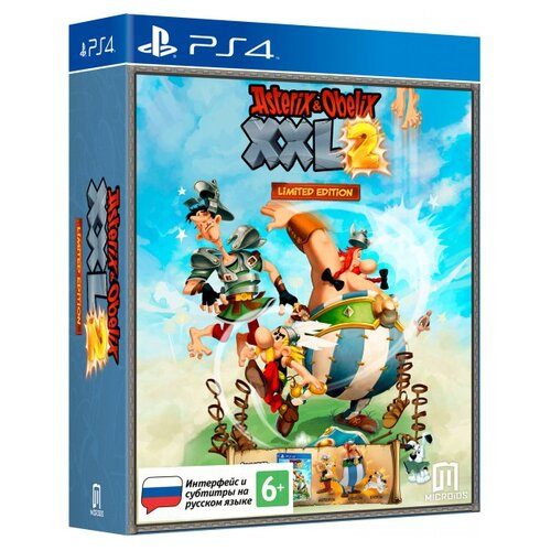 Купить Игра для PlayStation 4 Asterix and Obelix XXL2 Limited Edition, Microids