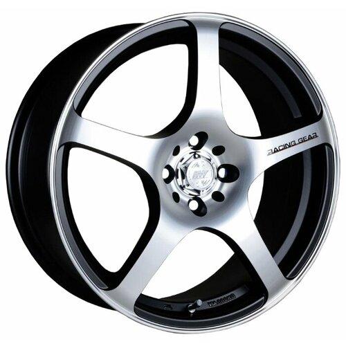 Фото - Колесный диск Racing Wheels H-125 7x16/4x98 D58.6 ET35 BK F/P хомут для кабеля hyperline was 125 bk липучка 125мм черный