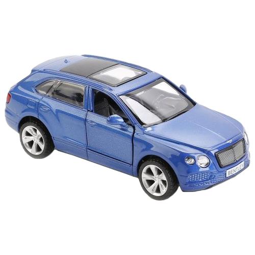 Купить Легковой автомобиль Автопанорама Bentley Bentayga (J12290/JB1200142) 1:45 11.5 см синий, Машинки и техника