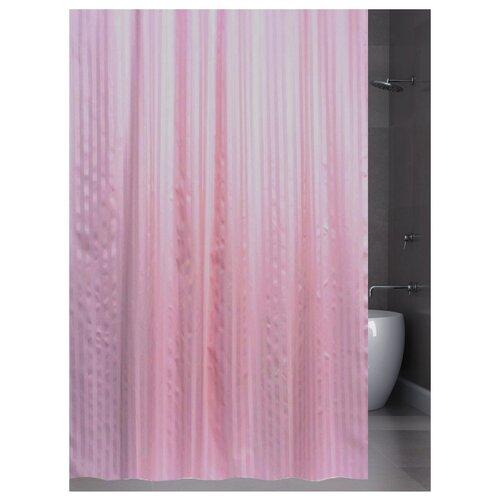 Штора для ванной Bath Plus Hilton 180х200 розовый