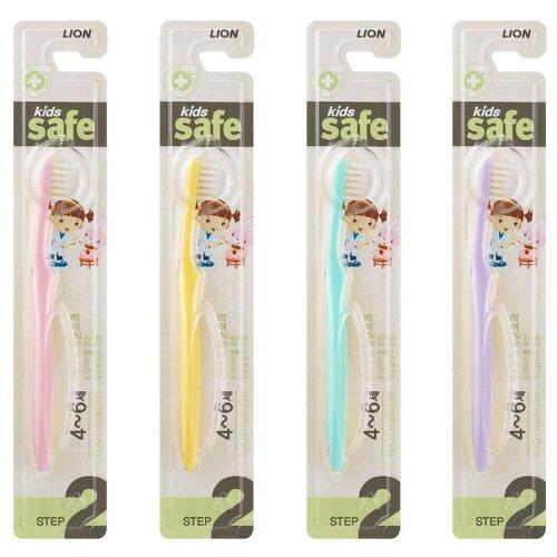 Зубная щетка CJ Lion Kids Safe №2 4-6 лет