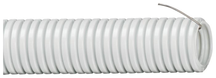 Труба гофрированная ПВХ с зондом IEK 16 мм x 25 м