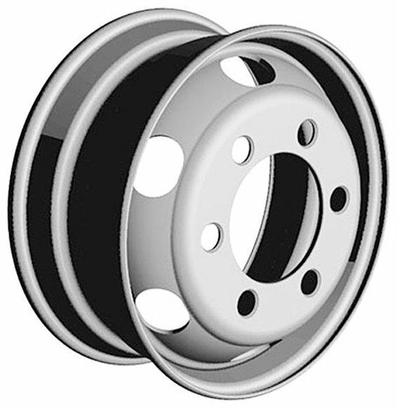 Колесный диск ГАЗ Газель-3302 5.5x16/6x170 D130 ET106 — купить по выгодной цене на Яндекс.Маркете