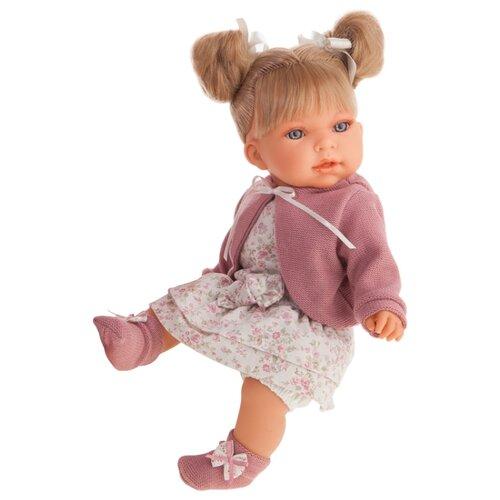 Купить Интерактивный пупс Antonio Juan Альма в фиолетовом, 37 см, 1550Bl, Куклы и пупсы